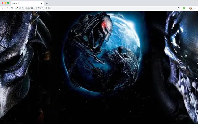 Alien vs. Predator New Tab HD Games Theme