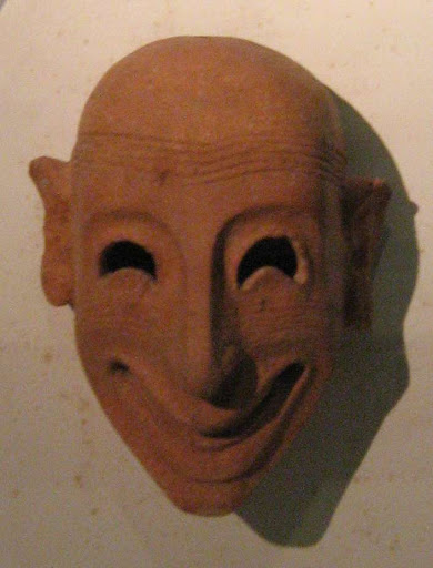 Phoenician mask from Mozia
