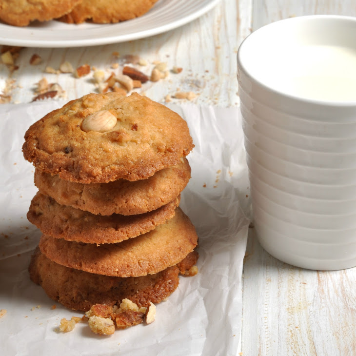 Chinese Double Almond Cookies Recipe