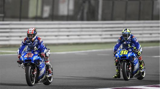 Solido comienzo para el equipo Suzuki en el mundial de MotoGP