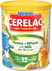 Cerelac Honey and Wheat with Milk Infant Cereal - 400g