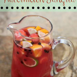 Watermelon Sangria #BrunchWeek