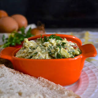 CalMex Avocado and Egg Salad #SundaySupper.