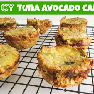 Spicy Tuna Avocado Cakes