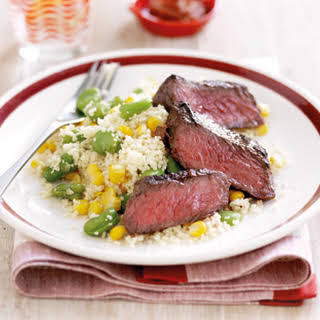 Moroccan Beef With Vege Couscous.
