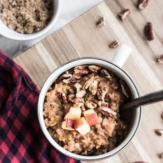 Slow-Cooker Apple Cinnamon Oatmeal