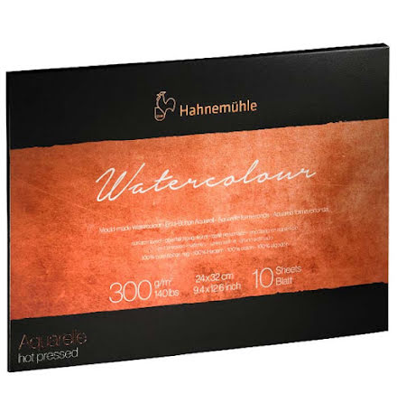 Akvarellblock Hahnemuhle Collection 300g