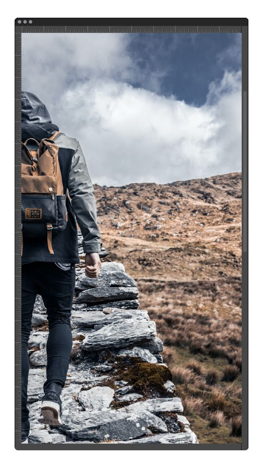 Day Hike Window - Facebook Story Template