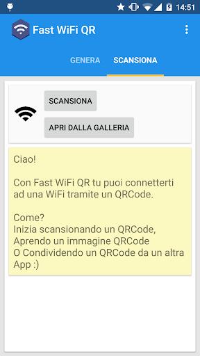 Fast WiFi QR