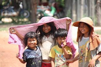 Photo: Year 2 Day 39 - Lovely Village Kids (Cambodia)