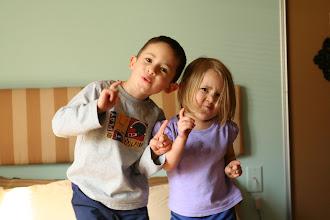 Photo: Kids doing crazy dances