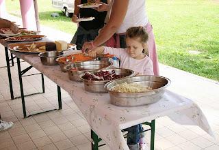 Photo: Buffet di insalate della fattoria