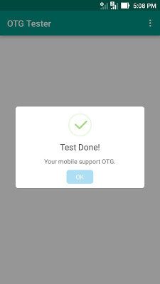 USB OTG Tester - screenshot