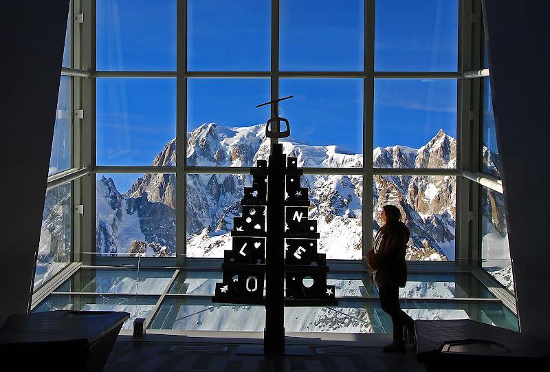 Monte Bianco alla finestra di utente cancellato