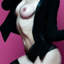 © Rampix Photography by Riaan Www.rampix.co.uk - Nudes & Boudoir Artistic Nude ( nude, luci-jones, #rampix, blonde, studio - luci jones, lingerie, nsfw, rampix photography, rampix-photography, implied, pink, luci jones, @rampix_mk, heels )