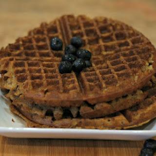 Whole-wheat Plant-based Waffles