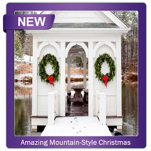 Amazing Mountain Style Christmas Decor Ideas