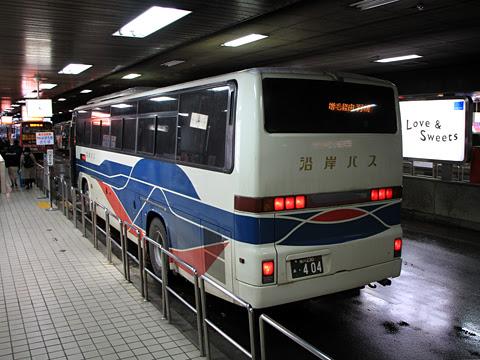 沿岸バス「特急はぼろ号」増毛経由便 ・404