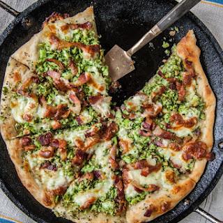 Broccoli & Bacon Pizza