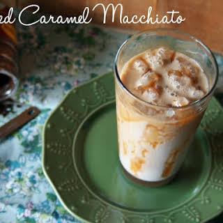 Iced Caramel Macchiato.