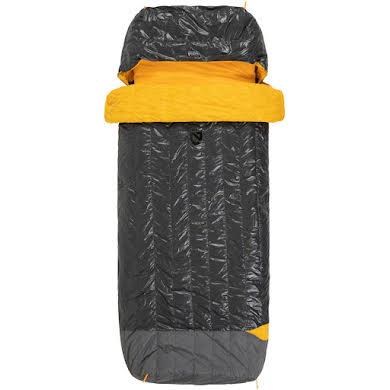 NEMO Tango Solo, 30, 650-fill DownTek Sleeping Bag/Comforter, Granite/Marigold