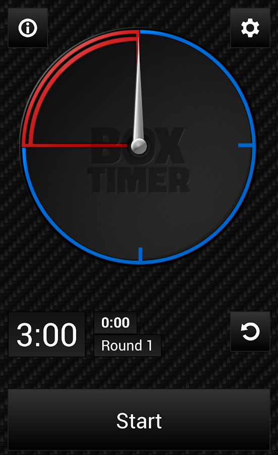 BoxTimer Boxing Timer- screenshot