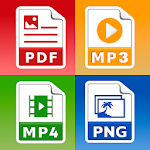 All Files Converter - Office Suite: PDF,  DOC, JPG 25.0
