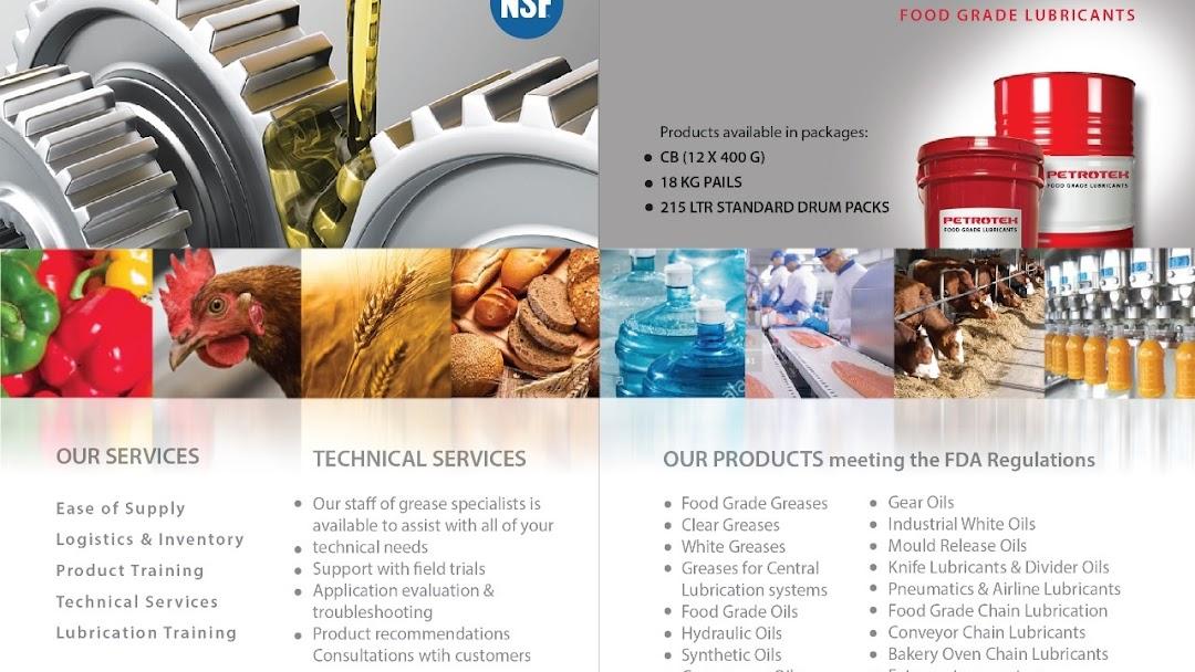 Petrotek Industrial lubricant, Grease Suppliers Dubai, UAE