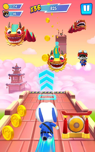 Talking Tom Hero Dash - Run Game screenshot 16