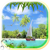 Beaches Islands Live Wallpaper Android APK Download Free By SweetMood