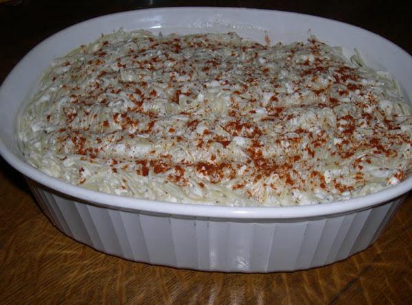 Hungarian Noodle Bake Recipe
