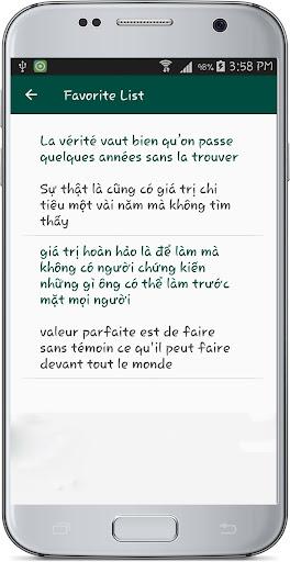 French Vietnamese Translate 1.1 screenshots 12