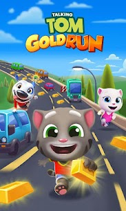 Talking Tom Gold Run Mod Apk 4.5.0.672 (Unlimited Money) 8