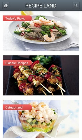Screenshots for Recipe Land for Android