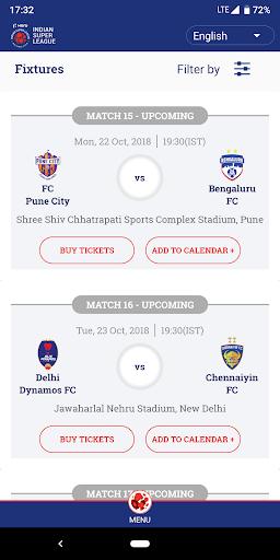 Indian Super League - Official App 7.5 screenshots 3