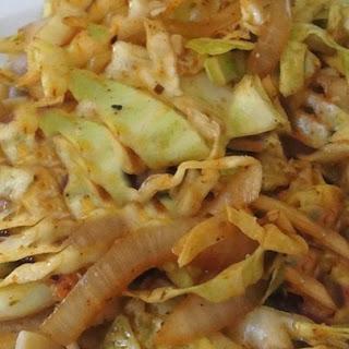 Spicy Cajun Cabbage