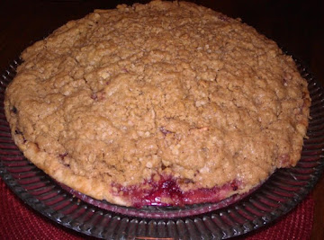 Apple Berry Pie With Oatmeal Streusel Topping Recipe