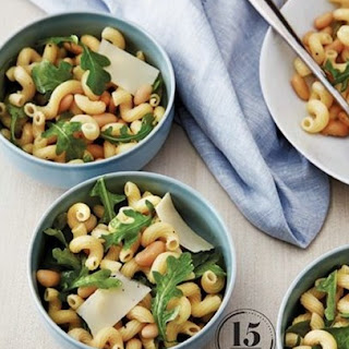 Weight Watchers Cavatappi With Arugula And Cannellini Beans