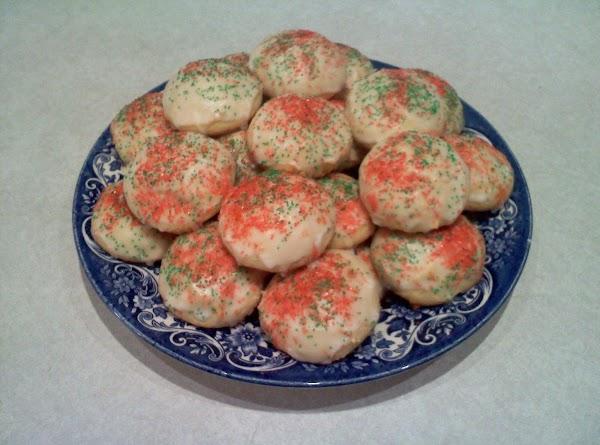 Lemony Ricotta Cookies Recipe
