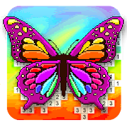 Pixyfy: pixel art color by number coloring games