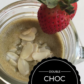 Double Choc + Peanut Butter Smoothie – Great For Post Workout