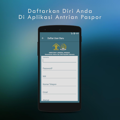 Antrian Paspor 1.2.9 screenshots 2