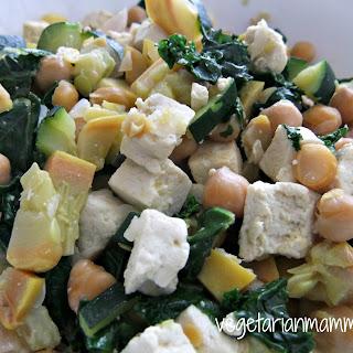 Chickpea and Kale Stir Fry – #glutenfree #vegan