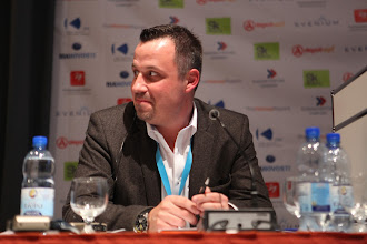 "Photo: Franco Gullotti - moderator - ""Latest Trends for Comms Consultancies"" Panel - 2012"