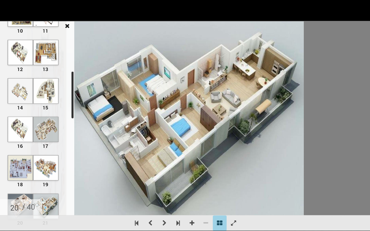 Pelan rumah 3d apl android di google play for Arkitek home plans
