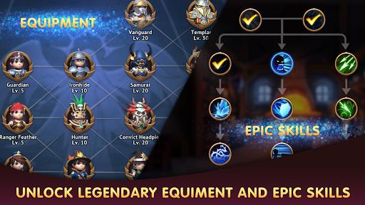 Code Triche Rise of Legend APK MOD screenshots 6