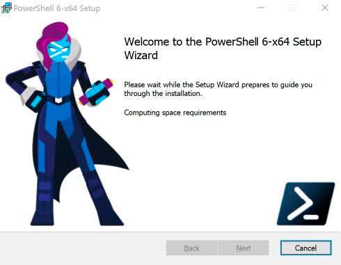 Installing PowerShell Core