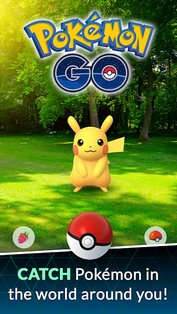 Pokémon GO Android App Screenshot