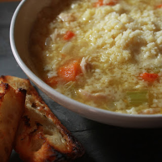 Pastina Chicken Soup.
