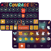 Graffiti Emoji Keyboard Theme